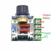 Dimmer SCR 2000Watt Motor Speed Controller 220V AC PWM Regulator