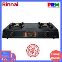 RINNAI Kompor Gas 2 Tungku RI-522C - Hitam