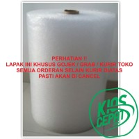 [GO SEND] Bubble Wrap 50m x 60cm Harga Promo