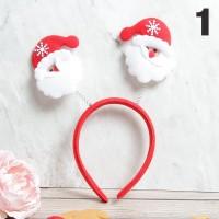 Bando Natal Christmas | Bando Rusa Snowman Santa | Best Price