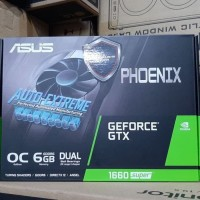 ASUS Geforce GTX 1660 / GTX1660 SUPER Phoenix PH OC 6GB DDR6 192 BIT