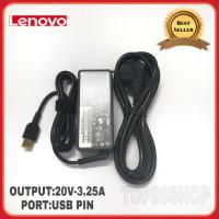 Adaptor Charger Original Lenovo ThinkPad X240 X240S X260 X250 X230 USB