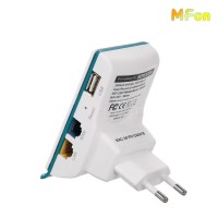 Inotrix ETN11 300Mbps Wireless Extender Repeater 2 Port RJ45