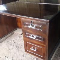 meja kerja meja kantor kayu solid