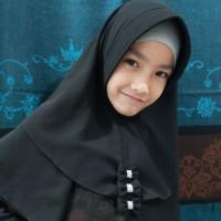hijab jilbab anak instan tiga pita