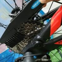 sikat pembersih sprocket rantai gear chain brush sepeda