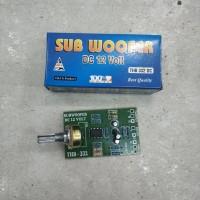 Kit filter subwoofer / kit pre amp subwoofer / kit tone sub woofer