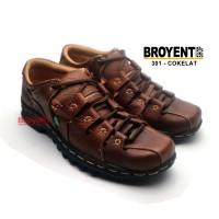 Sepatu Sandal Casual Pria Kulit Asli 301