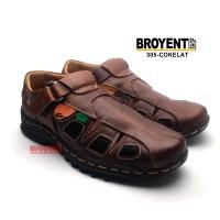 Sepatu Sandal Casual Pria Kulit Asli 305