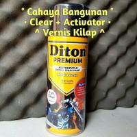 Pylox Pilox DITON PREMIUM Clear Aktivator Vernis Pengkilap Cat 9128