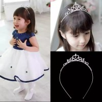Bando Bandana Tiara Mahkota Crown Princess Headband Anak