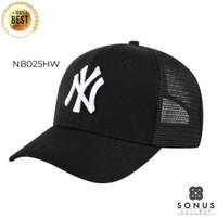 TOPI BASEBALL IMPORT NY NEWYORK MLB SPORT   HIGH QUALITY BORDIR NY23