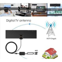 Antena ADbios Dengan Sinyal Amplifier Booster TV 100 Miles