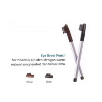 Wardah Eyebrow Pencil + Sikat
