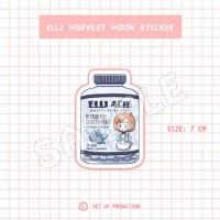 Elli Supplement Harvest Moon Sticker/ Stiker Harvest Moon Suplemen Ell