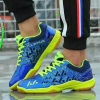 sepatu badminton blue not yonex aerus 2 but original 100% logo Lefus