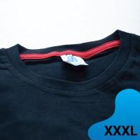 Kaos polos Extra Size XXXL Koze Premium Comfort Extra Warna Hitam