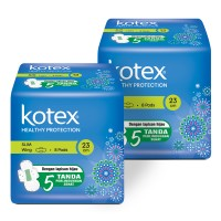 Kotex Healthy Protection Slim Wing 8s 2 Pack