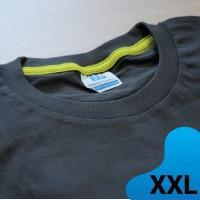 Kaos polos Extra Size XXL Koze Premium Comfort Extra Warna Abu-Abu