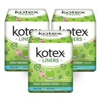 Kotex Liners Daun Sirih 40s 3 Pack