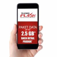 VOUCHER FISIK DATA INTERNET TELKOMSEL 2.5 GB