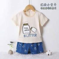 """Setelan Baju Bayi """"Butter"""" / Set Baju Bayi Laki-laki Import"""