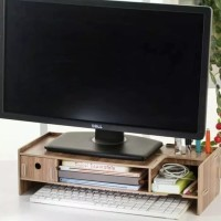 Rak Meja Tempat Laptop Storage Note Book Monitor Komputer