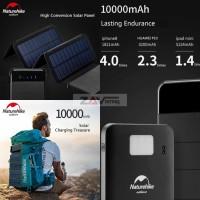 Power Bank Tenaga Surya Matahari Solar Cell Naturehike NH19T002-D
