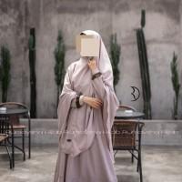 Rumaysha Hijab Setelan Jubah Akhwat Gamis Wanita Muslimah