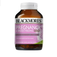 Blackmores Pregnancy & Breast Feeding Gold Suplemen 60 Kapsul