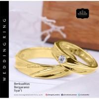 Cincin Kawin Tunangan Emas G0092