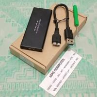 Kesing Hardisk SSD M.2 NGFF To USB 3.0 ENCLOSURE SSD M2 NGFF Case Box