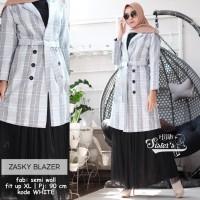 Blazer Wanita Muslim Terbaru Zasky