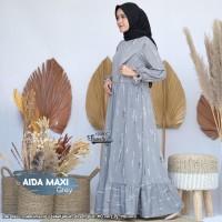 Baju Gamis Wanita Maxi Terbaru Aida