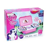 Nail Art Little Pony Mainan Anak Perempuan Fashion Alat Make up Kutek