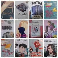 Paket 4 Novel Watpad bebas pilih