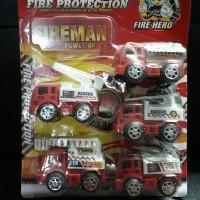 Mainan anak mobil pemadam kebakaran / Kado hadiah koleksi ultah anak