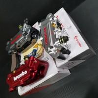 Kaliper Brembo Monoblok 4 Piston Full Cnc Import Universal