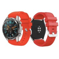 STRAP JAM TANGAN HUAWEI GT & GT 2 SILICONE RUBBER BAND 22MM
