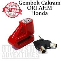 KUNCI gembok cakram motor original AHM HONDA ADV 150 PCX VARIO BEAT