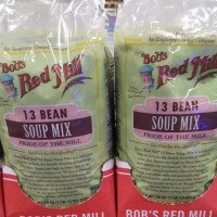 Bob' s red Mill 13 Bean soup mix 822gr