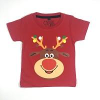 Kaos Natal Unisex Anak-anak| L038 - Baju Natal