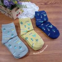 Kaos Kaki Motif Kaktus Lucu Cute Cactus Sock Size Dewasa Gaya Korea