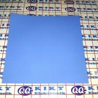 thermal pad silicon tebal 0,5mm / dimensi 100x100mm / 10cmx10cm