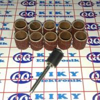"""3/8"""" / 9,5mm mata amplas bentuk drum silinder"""