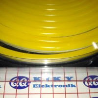 led neon flex 12v kuning meteran / neon flexible yellow