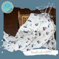 Muslin Swaddle/Bedong/Selimut Bayi Boat