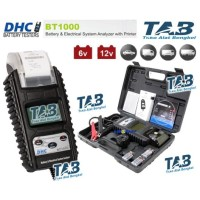 DHC BT1000 BATTERY TESTER WITH PRINTER Alat Tes Aki Mobil