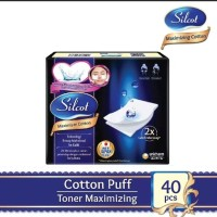 Silcot Maximizer Cotton Unicharm Kapas make up remover
