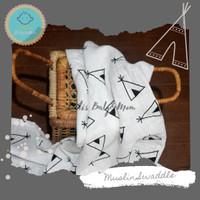 Muslin Swaddle/Bedong/Selimut Bayi Tent